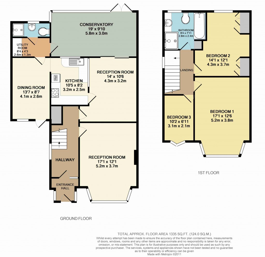 Floorplans For Lodge Gardens, Beckenham