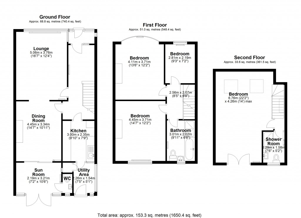 Floorplans For Eden Way, Beckenham