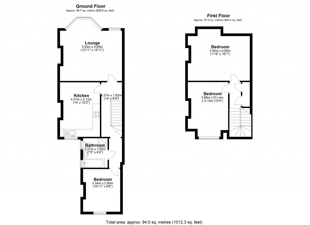 Floorplans For Elmers End Road, London